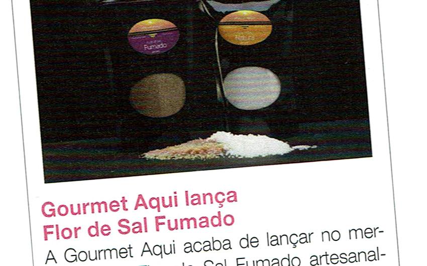 Gourmet Aqui lança Flor de Sal Fumado