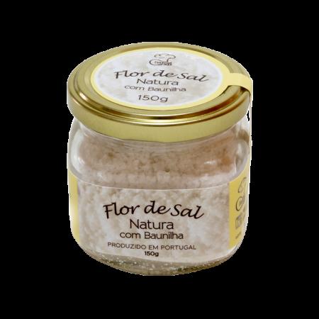 Flor de Sal Natura com Baunilha (150g)